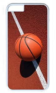 Basketball On Line DIY undergone Hard Shell White of iphone form 6 Case Perfect By Custom Service to