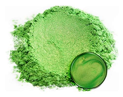 "Eye Candy Mica Powder Pigment ""Jade Green"" (50g) Multipurpose DIY Arts and Crafts Additive | Natural Bath Bombs, Resin, Paint, Epoxy, Soap, Nail Polish, Lip Balm"