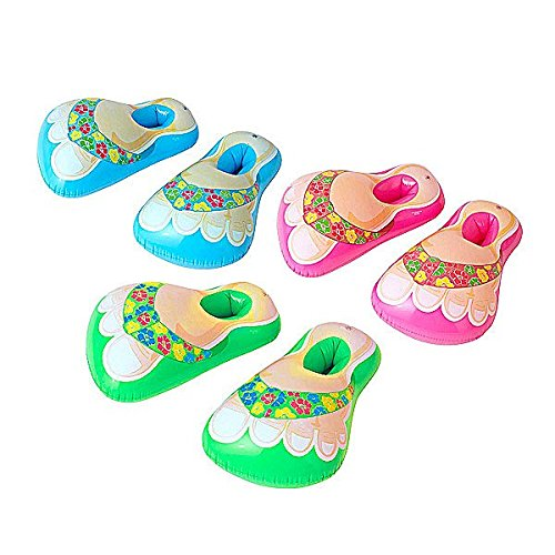 WIDMANN 0513H–Inflatable Beach Sandals–Hawaii–3Assorted Colours (No Selection Possible