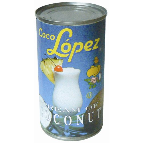 Coco López Crema de coco lata 425 g | Real crema de coco – Pina Colada