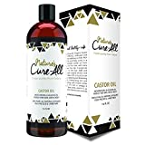 Nature's Cure-All Finest Quality Organic Castor Oil (16 oz) – 100% Natural Cold-pressed