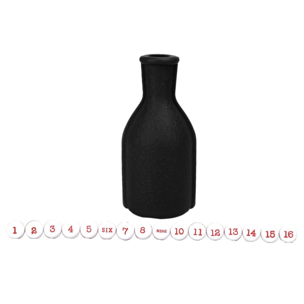 mikolot Numbered 1pcビリヤードケリープールShaker Bottle with 16 Numbered B077HWDQQT Tally 16 Balls Peas B077HWDQQT, SUPREME SURF&OUTDOORS:1621958e --- gamenavi.club