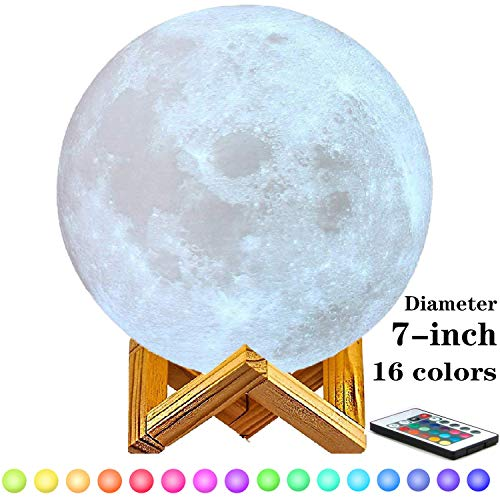 - 7-inch Moon Lamp Moon Light (6