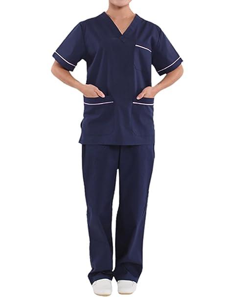 MISEMIYA Medizinische Schrubb-Hosen Unisex Krankenhaus-uniformhose