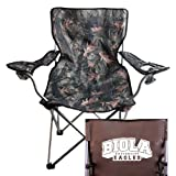 CollegeFanGear Biola Hunt Valley Camo Captains Chair 'Official Logo'