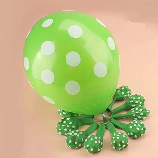 """verde claro blanco Globos de Látex Decoración Fiesta Aire//Helio Balones 10/"""" verde"""
