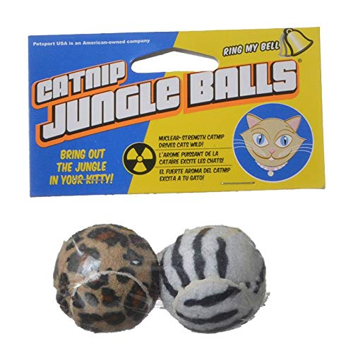 (Petsport USA Catnip Jungle Balls (91 Pack))