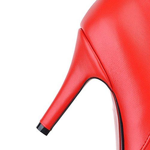 Mns01434 Zeppa 35 Eu Sconosciuto 1to9 Sandali Donna Rosso red Con 5 qR4vwpt