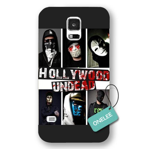 Onelee(TM) - Hollywood Undead Forsted Samsung Galaxy S5 Case & Cover - Black 1