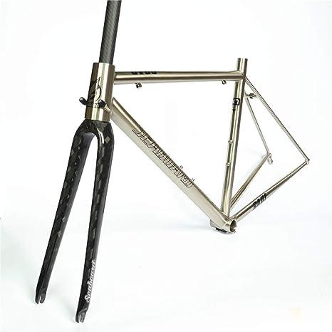 Seaboard CR-MO 4130 - Horquilla de Acero para Bicicleta de ...