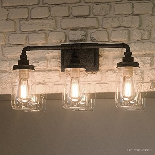Luxury Industrial Bathroom Light, Medium Size: 11