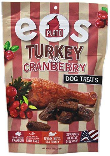 PLATO PET TREATS 595163 Plato Eos Turkey/Cranberry for Pets, 12-Ounce