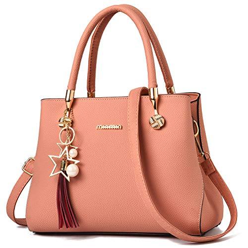 - WangWang Women Top Handle Handbags Satchel Tote Purse Shouler Bags Messenger Bags For Ladies