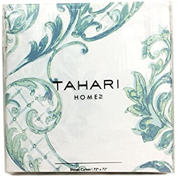 Amazon.com: Luxury Home Mirage Shower Curtain, Teal: Home
