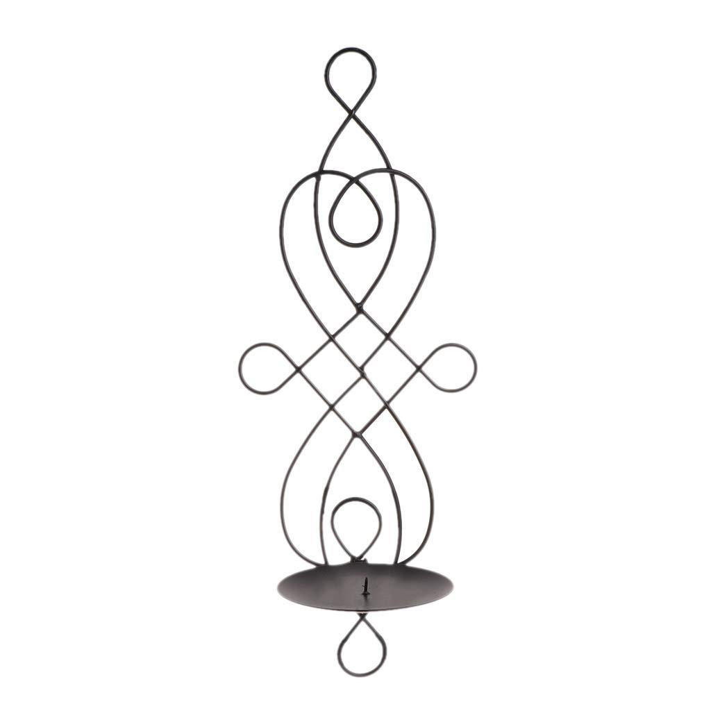 Nankod metallo ferro candeliere da appendere portacandele da parete, party Home Decor Christmas ornamento per home wedding Venue Christmas Table Gold