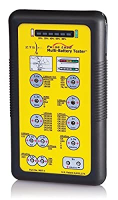 ZTS MBT-1 - Multi-Battery Tester - For More Than 30 Battery Types by ZTS