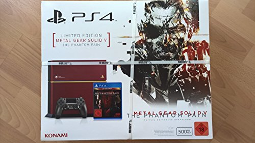 Console Limited Metal Solid playstation 4