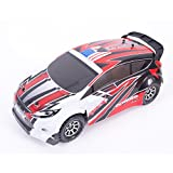 WLToys A949 Vortex 4WD Rally Car, 1:18 scale, up to 50km/h, with Fully Proportional Speed & Steering, High Speed, 2.4GHz Remote/Receiver (Red or Blue)