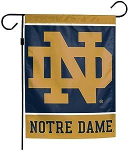 WinCraft NCAA Univeristy of Notre Dame Fighting Irish 12 x 18 inch Garden Flag