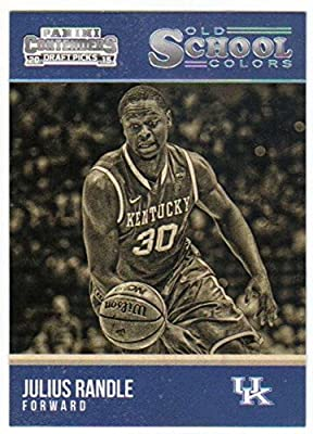 2015-16 Panini Contenders Draft Picks Old School Colors #16 Julius Randle Kentucky Wildcats