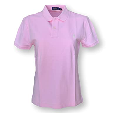 4a535971 Polo Ralph Lauren Women's Classic Fit Mesh Polo Shirt (Medium, Light Pink):  Amazon.in: Clothing & Accessories