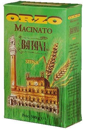 "Caffè Batani: Tuscan ""Siena"" Toasted Ground Barley - 17.6 Ounces (500g) Package [ Italian Import ]"