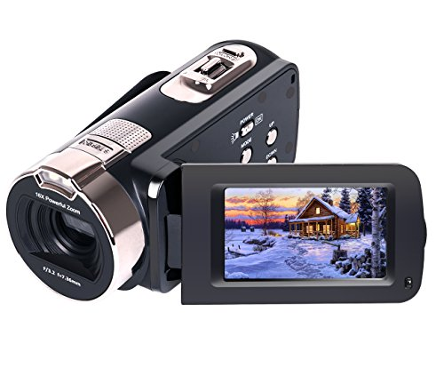 Camera-Camcorders-Besteker-Portable-1080P-24MP-16X-Digital-Zoom-Video-Camcorder-with-27-LCD-and-270-Degree-Rotation-Screen