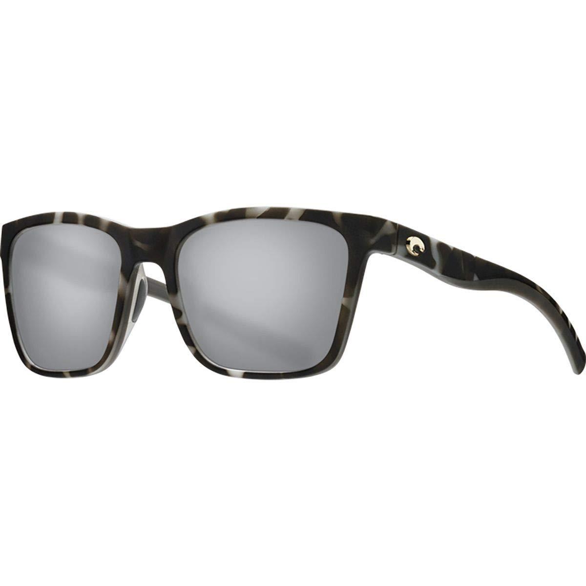 Costa Del Mar レディース Panga  Matte Gray Tortoise/Gray Silver Mirror 580p B07MZDZXZC