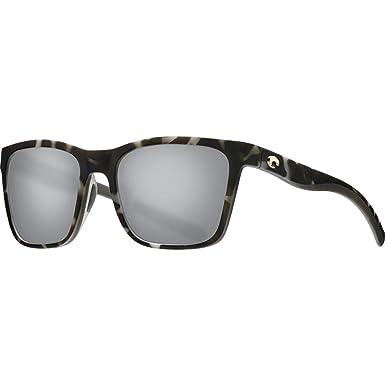 855973fec0a25 Costa Del Mar - Panga - Matte Grey Tortoise Frame-Grey Silver Mirror 580  Poly