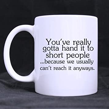 Amazon com: Birthday Gifts Humor Quotes the only thing