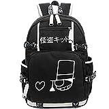 HonRMan Detective Conan Case Closed Luminous Backpack Anime Book Bag Casual School Bag (one Size, Detective Conan Case Closed)
