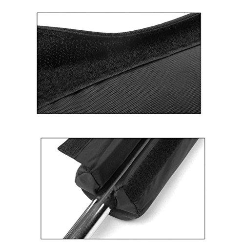 Runacc Barbell squat Pad pratique du cou et des épaules de protection Coussinets épais Barbell cou Pad, Noir
