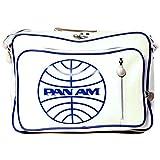 vintage flight bag - Pan Am Men's Secret Agent Bag-2, Vintage White, Medium
