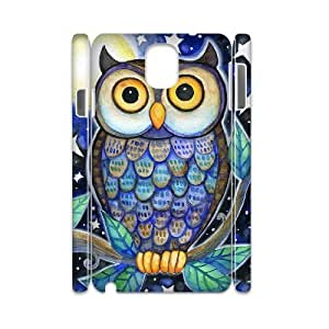 Owl Personalized 3D Cover Case for Samsung Galaxy Note 3 N9000,customized phone case ygtg527931