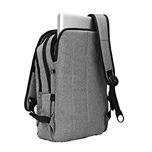 Kopack Slim Business Laptop Backpacks Anti Thief Tear/water Resistant Travel Bag 15 15.6 Inch Macbook Computer Backpack Gray
