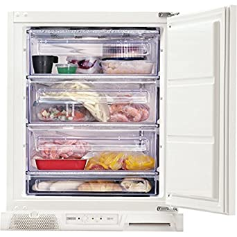 Zanussi ZUF11420SA Integrado Vertical 98L A+ Blanco - Congelador ...