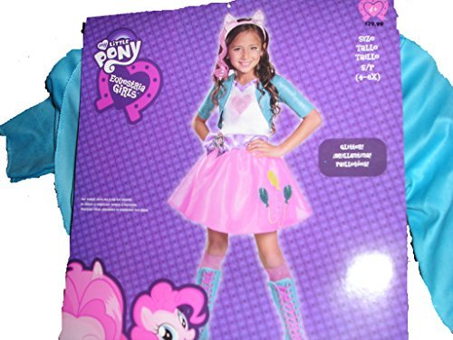 Equestrian Costume Halloween (Pinkie Pie Equestrian Deluxe Costume, Small (4-6x))