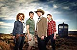 Doctor Who UK Imported 17' X 11' 11th Doctor with River Song, Rory, and Amy Pond