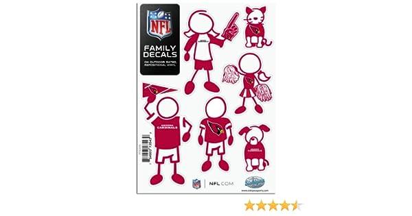 NFL Siskiyou Sports Fan Shop Arizona Cardinals Leather Checkbook Cover One Size Black