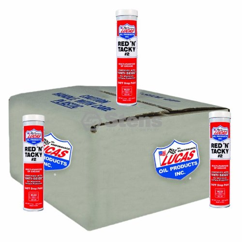 Lucas Oil Red N Tacky Grease, (10 Pack) by Lucas Oil