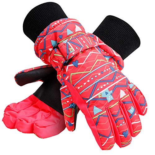 Galexia Zero Kids Winter Waterproof Thinsulate Lining Snowboard Ski Gloves M ()