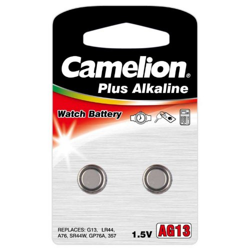 Camelion AG13 1.5V 130mAh Alkaline Button Cell FAST USA SHIP