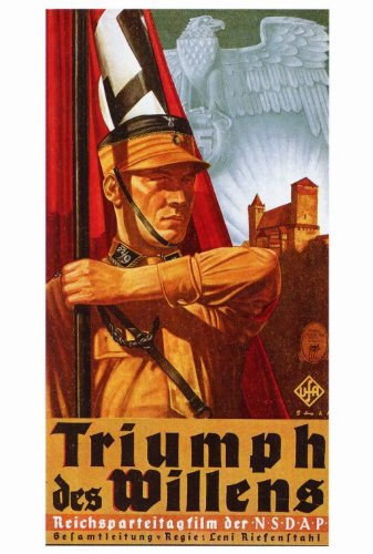 Price comparison product image Triumph of the Will Poster Foreign 27x40 Adolf Hitler Josef Goebbels Hermann Gring
