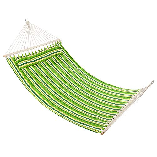 ck,Stylish Printing Style Hammock Beach Swing Double Beds for Backpacking, Camping, Travel, Beach, Yard ()