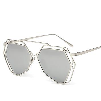 Ms. Sonnenbrille Polarisierte Sonnenbrillen Hohl Polygon,A1