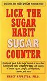 The Lick the Sugar Habit Sugar Counter, Nancy Appleton, 1583330933