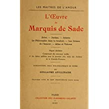 Books by Marquis de Sade (French Edition)