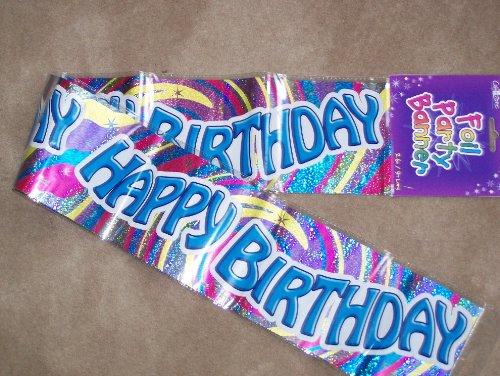 Pancarta de feliz cumpleaños macho o hembra (Hol) (bgsw ...