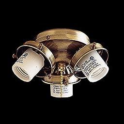 Minka-Aire K33-L-ORB, 3-Light Turtle Fitter, Oil-Rubbed Bronze