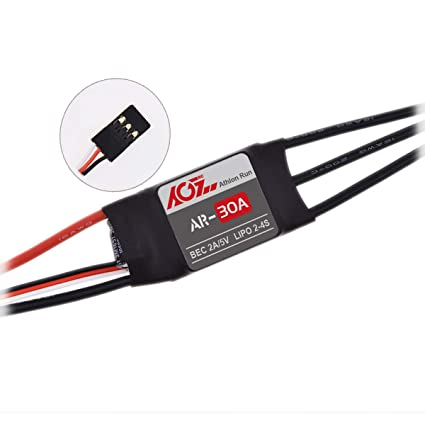Amazon com: AGFrc RC Brushless ESC Controller 30A ESC Speed